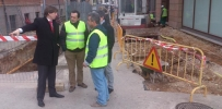 Visita del alcalde a la calle