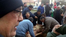 Sacrificio del cerdo en Quintana