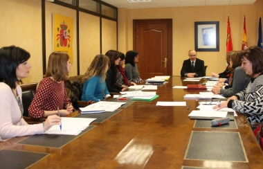 Reunión con las unidades provinciales de violencia de género