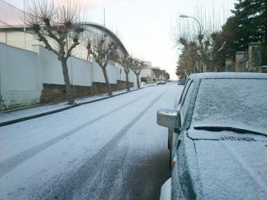 Calle de Soria, a primera hora