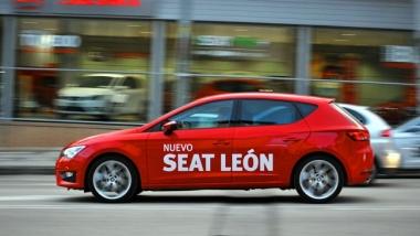 El León en las calles de Soria