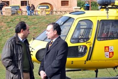 Salguero, (dcha.) con  López