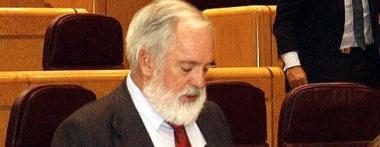 El ministro en el Senado