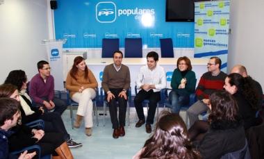Reunión de NNGG de Soria