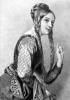 Grabado de Leonor de Aquitania
