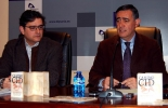 Antonio Pardo (izda.) y Alberto Luque