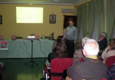 Carlos Aguirre, en la presentación