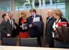 Representantes del Consejo para la Internacionalización Empresaria de Catilla y León