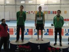 Mario Arancón con el bronce