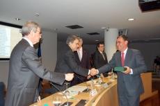 Pardo recibe el reconocimiento