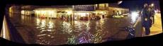 El agua del Revinuesa ha llegado al Hotel Virginia de Vinuesa