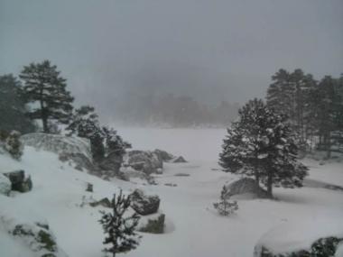 Laguna Negra nevada