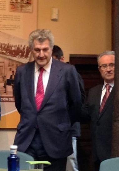 Jesús Posada y Agustín Escolano