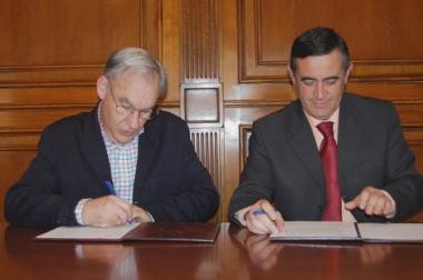 Enrique Jiménez y Antonio Pardo