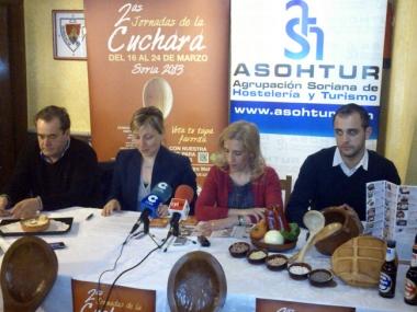 Casado, Santos, Valdenebro y Lapuerta en la presentación