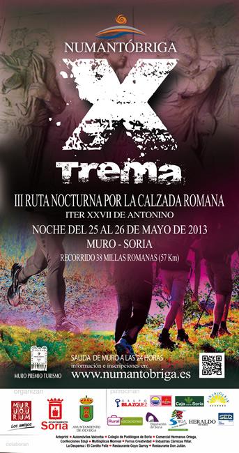 Cartel Numantobriga Xtrema 2013