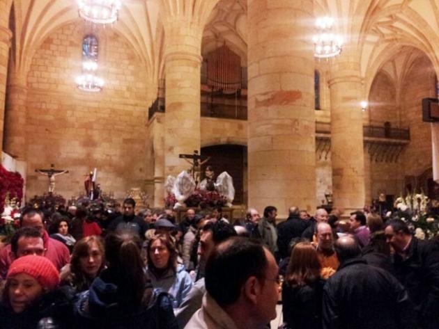 Interior de la concatedral de San Pedro