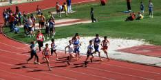 Los 500 metros de infantil masculino