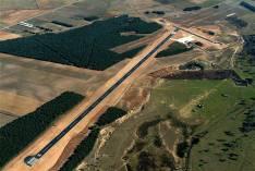 Vista general del aeródromo