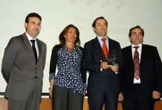 Javier Ramírez recoge el Premio Alimara 2013