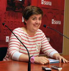 La concejal Ana Alegre