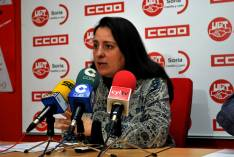 Ana Romero, de CC OO