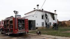 Intervencion de los bomberos en la provincia