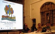 El primer encuentro se celebró en Liceras