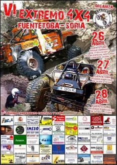 Extremo 4x4 en Fuentetoba