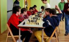 Varios jugadores en el torneo