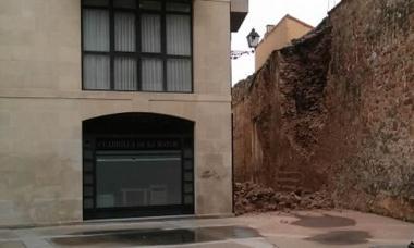 Derrumbre cerca de La Mayor