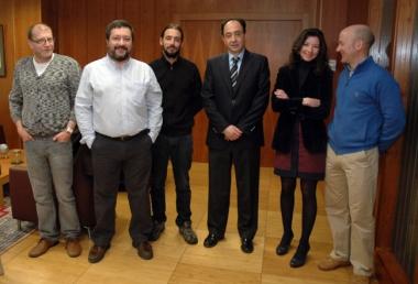 Ortega, Alcalde, Hernández, López. Borén y Rubio