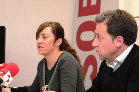 Virgina Barcones y Ángel Núñez