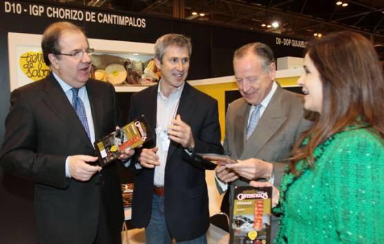 Herrera (izda.) en el Salón Gourmets
