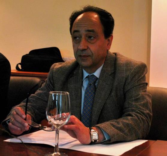 El delegado Manuel López, este lunes
