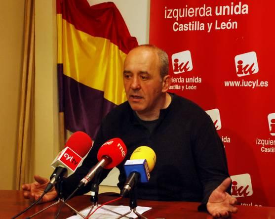 Enrique García, de IU