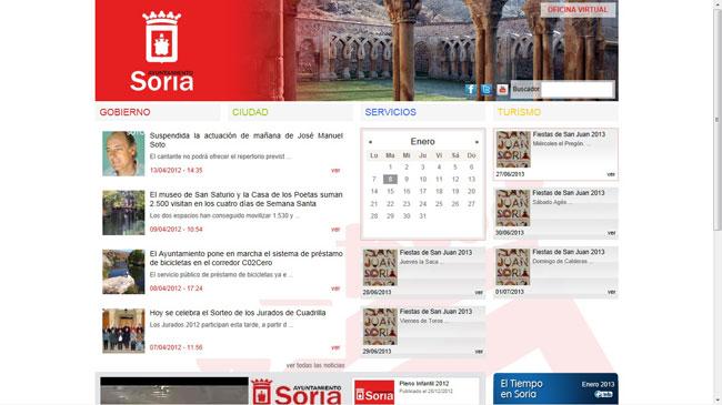 Nueva web del Ayuntamiento