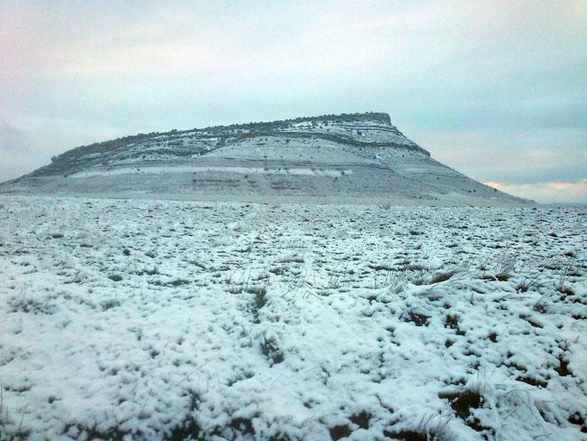 El Pico Frentes en la mañana de este viernes