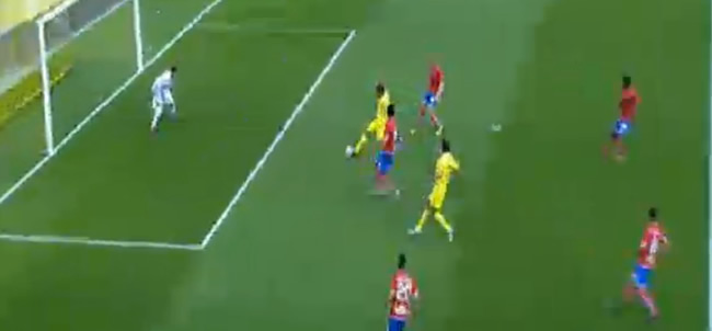 Primer gol del Villarreal