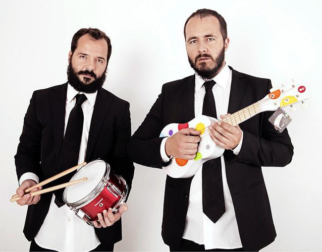 Ángel Martín y Ricardo Castella