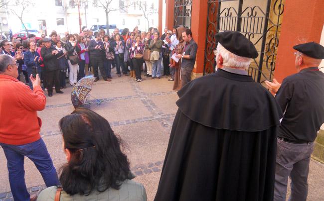 Cerca de 150 personas en La Saturiada