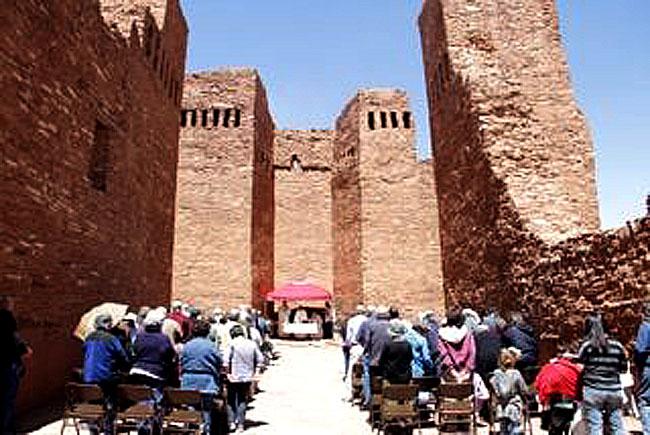 Eucaristía en las ruinas de la Gran Quivira