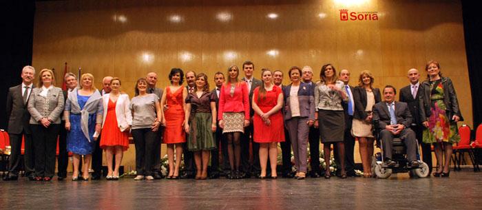 Foto de familia de los jurados 2013