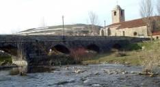 Imagen del puente apuntalado