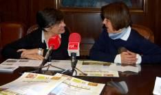 Yolanda Martínez (izda.) y Concha Alonso