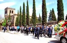 La comitiva hacia el cementerio