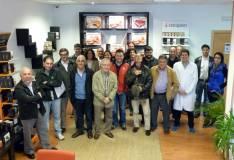 Participantes en la visita