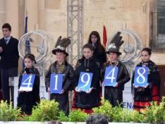 Niños de Almazán muestran el primer premio