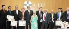 Premiados en la entrega de títulos 'Sorianos del Año 2011'
