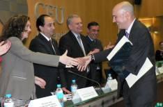 Heredia saluda a Juan José Delgado